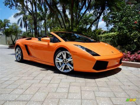 2008 arancio borealis orange lamborghini gallardo spyder e gear 66774204 gtcarlot car