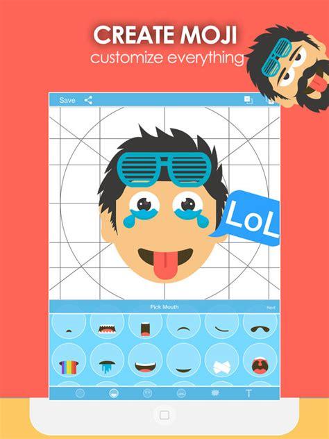 emoji generator moji creator emoji generator on the app store