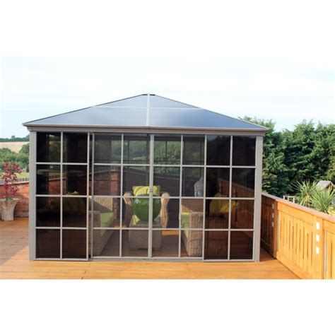 screen house gazebo polycarbonate garden gazebo screen house