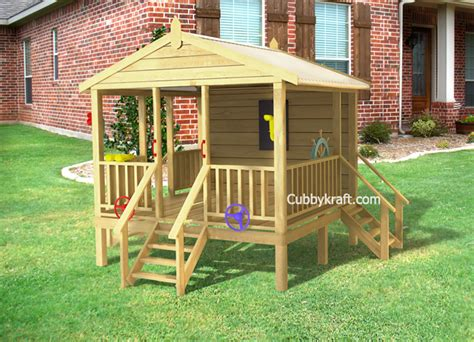 Backyard Play Forts by Play Shack Cubby Fort Backyard Playhouses By Cubbykraft