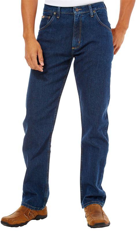 wrangler comfort jeans genuine wrangler mens advanced comfort jeans ebay