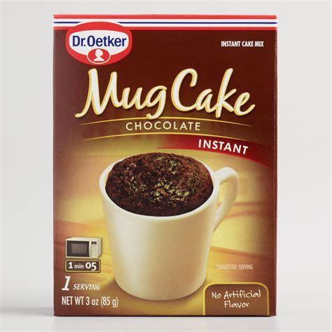 Dr. Oetker Chocolate Mug Cake Mix, Set of 6   World Market