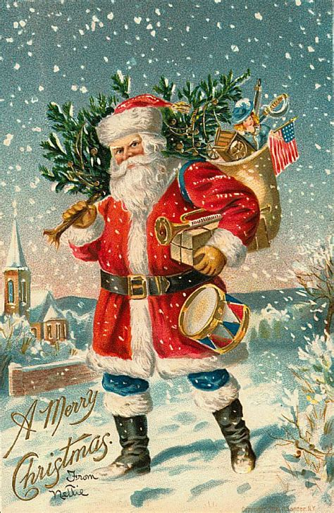 vintage santa claus santa claus vintage 379 free desktop wallpapers cool