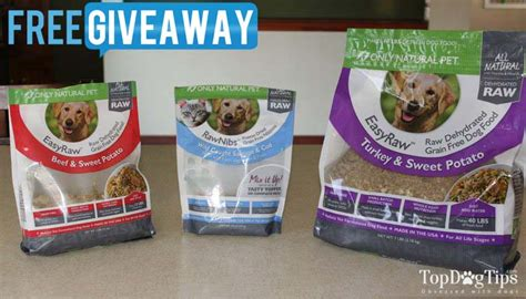 Dog Food Giveaway - giveaway only natural pet easyraw dehydrated dog food 80 value