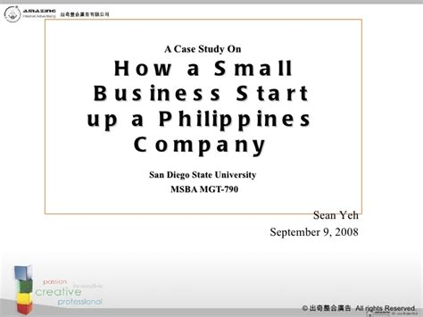 how can i start a small business from home how a small business start up a philippines company
