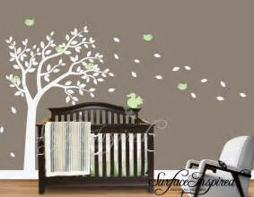 Tree Nursery Wall Decal Nursery Wall Decals Large Tree Wall Decal Wall Mural Stickers