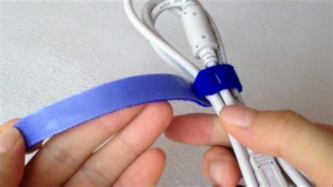 ieqshop velcro hook and loop cable tie