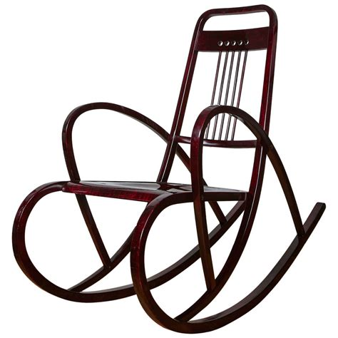 How To Make A Rocking Chair Viennese Secession Rocking Chair By Thonet Circa 1911 For