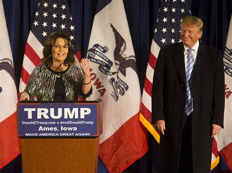 sarah palin donald trump buzzing sarah palin endorses donald trump for president