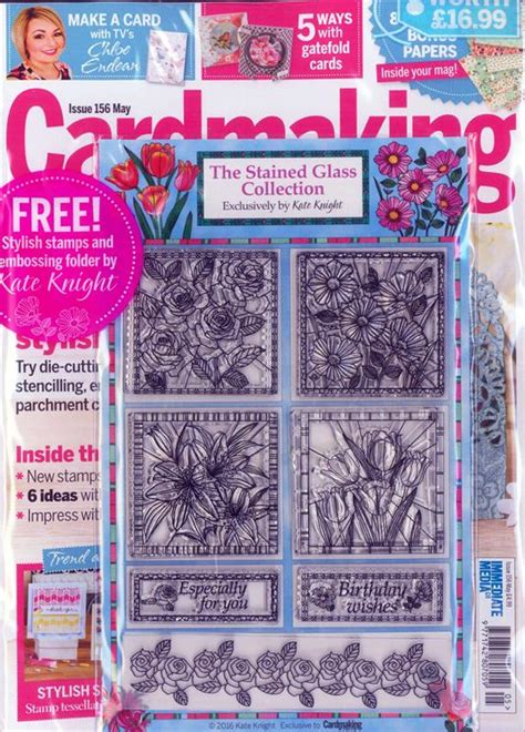 Cardmaking And Papercrafts Magazine - cardmaking papercraft magazine subscription buy at