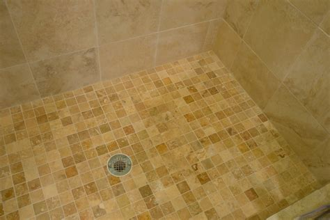 porcelain tile that looks like travertine Hall Traditional