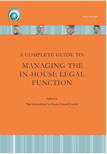 what does complete mean when buying a house a complete guide to managing the in house counsel legal function books