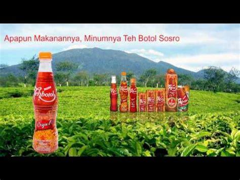 Teh Sosro iklan minuman teh sosro 01052017