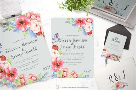 printable wedding invitation suites printable wedding invitation suite customizable wedding
