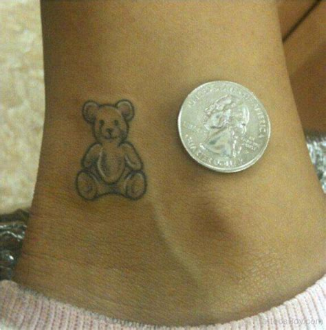small teddy bear tattoos teddy tattoos designs pictures page 4