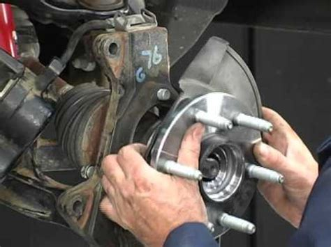 how to: remove & install a truck hub bearing assembly with