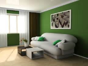 Green Colored Rooms by Living Rooms With Green Walls Decoration News