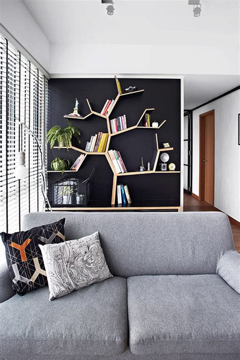 unconventional ideas   home library home decor