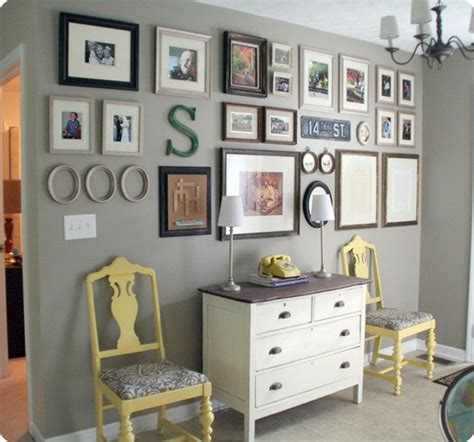 grouping family pictures on a wall wall groupings