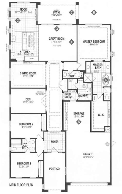 mattamy homes floor plans mattamy homes vista floor plan dove mountain