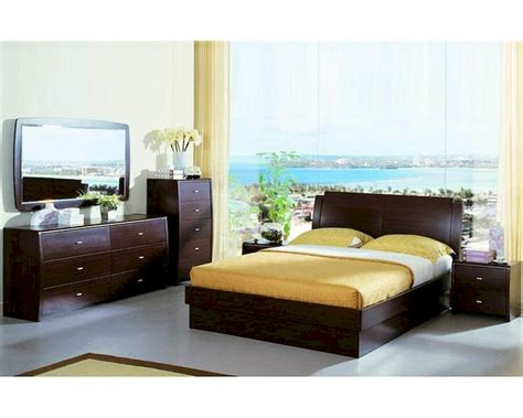Contemporary Bedroom Sets Made In Italy Modern Made In Italy Wenge Finish Storage Bedroom Set 44b5811