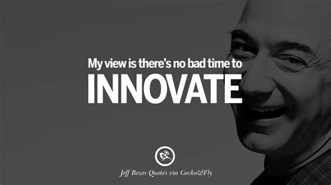 famous jeff bezos quotes  innovation business commerce  customers