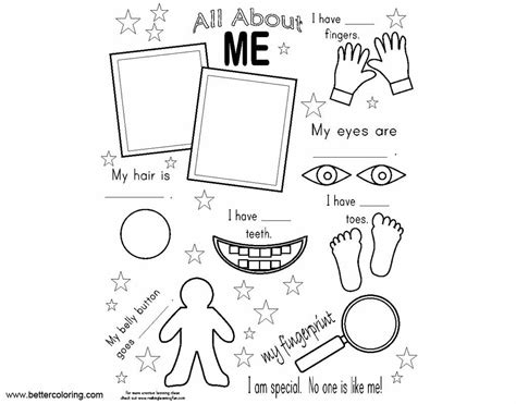 all about me coloring pages all about me coloring pages about my free printable
