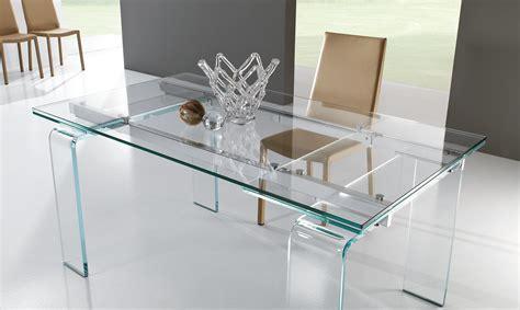 tavolo in cristallo tavolo in cristallo plano meroni arreda