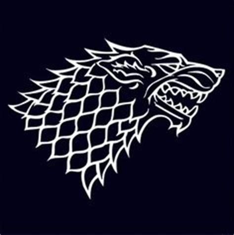 haus stark of thrones house stark sigil stencil 1 got