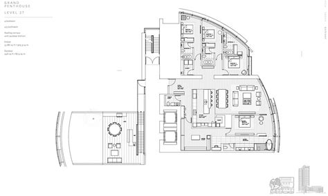 terrace towers floor plans 7 new grand penthouses for sale in honolulu hi