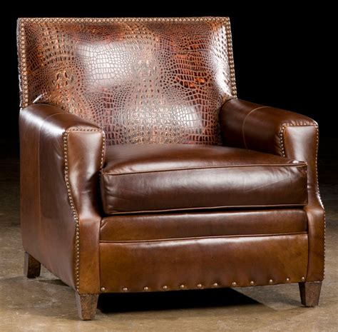 Cool Leather Accent Chair 47