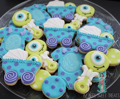 Baby Monsters Inc Baby Shower by Monsters Inc Baby Shower Cookie Connection