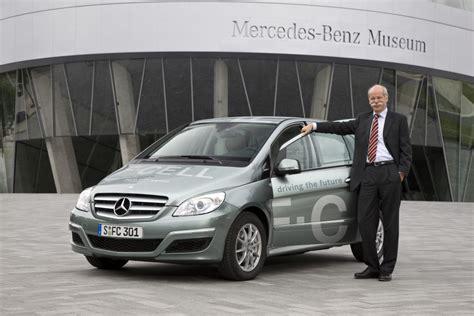 Brennstoffzelle Auto Probleme by Daimler Chef Zetsche Forciert Die Brennstoffzelle