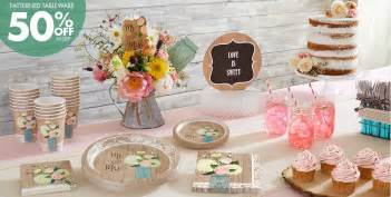 rustic wedding supplies bridal shower themes