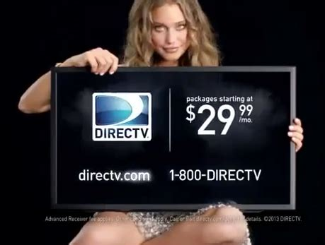 direct tv commercial actress hannah davis underrated hottie of the week