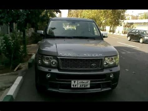 land rover iran range rover sport in iran tehran youtube