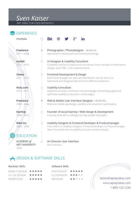 custom resume templates how to customize a resume or cv template design shack