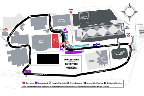 Pcb Layout Jobs Toronto | honda indy toronto track changes include new pit lane