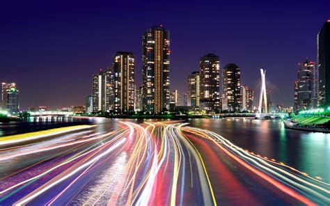 city lights tokyo wallpaper wallpupcom