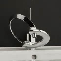 Cool Bathroom Faucets by Modern Bathroom Faucets With Curved Levers Embrace