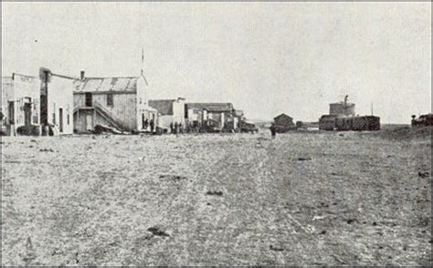 what year was dodge city founded the birth of the atchison topeka and santa fe railroad