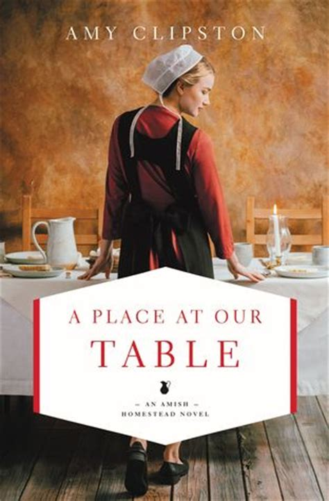 book review a place at our table by clipston the