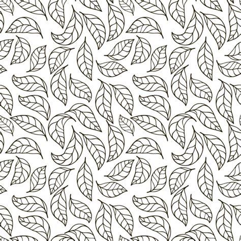 pattern vector leaf leaves pattern design vector free download