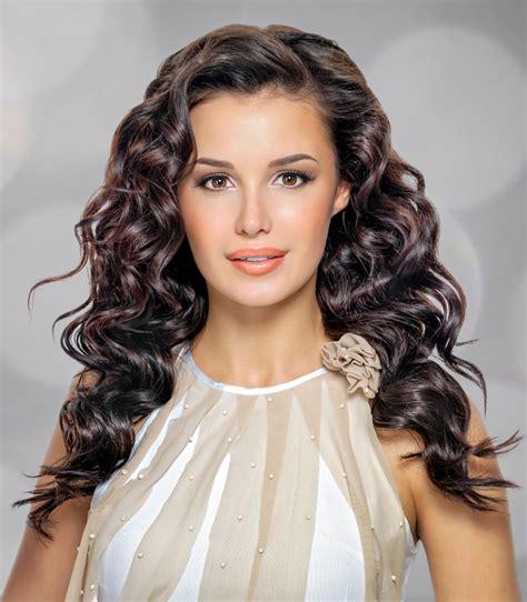 Frisuren Für Hochzeit Lange Haare Frisuren Mit Lockenstab Lange Haare