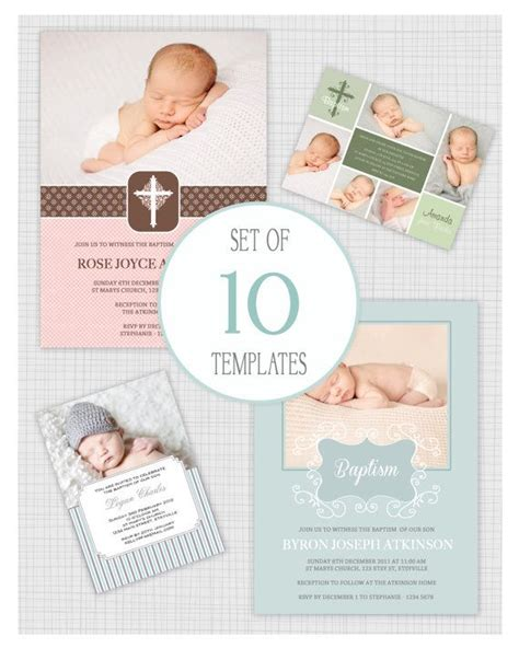 Christening Invitation Card Template Psd by Best 25 Christening Invitations Ideas On