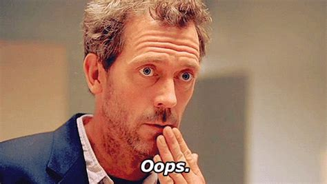 house gif dr house oops gif find share on giphy