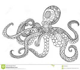 octopus with high details stock vector image 69980380