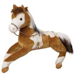 canyon the big appaloosa horse stuffed animal by douglas