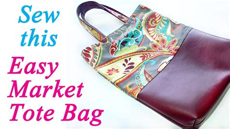 Stop The Market Bag Insanity In My Bag by How To Sew A Strong Market Tote Bag