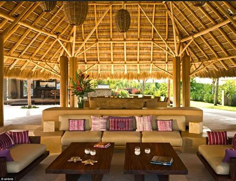 Nice Kitchen Islands gwyneth paltrow s rented luxury villa in mexico where she
